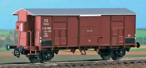 ACME AC40042 - Italian Goods Wagon Type F with brakesmans cabin of the FS