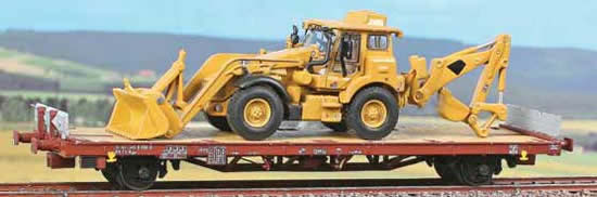 ACME AC40323 - Flat Car Type Kgps of the FS with earthmover