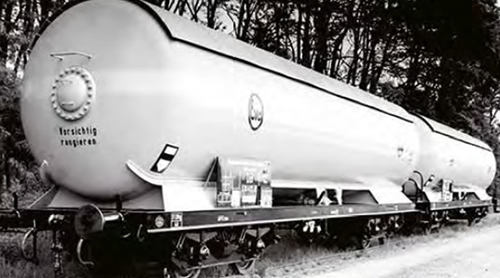 ACME AC45029 - German 2pc Gas Tank Wagon Set of the DB
