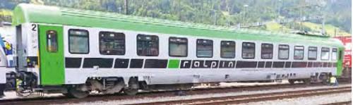 ACME AC52418 - Swiss Passenger Coach Ralpin of the SBB