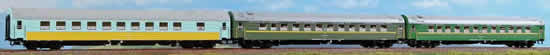 ACME AC55136 - 3pc Passenger Coach Set - Set B