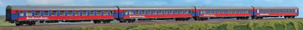 ACME AC55158 - 4pc Passenger Coach Set BTE