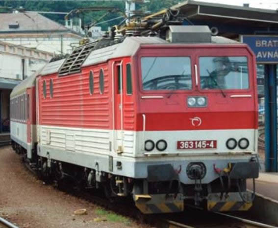 ACME AC60314 - Slovakian Electric locomotive 363 145 of the ZSSK