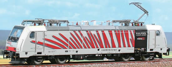 ACME AC60409 - Electric Locomotive TRAXX 186 284 Zebra - Red (Limited Edition)