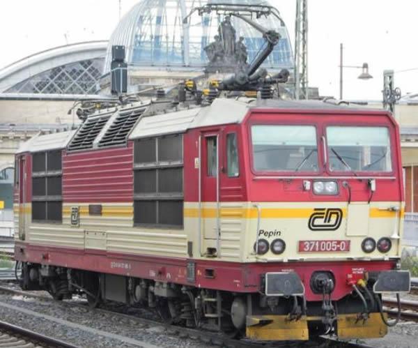 "ACME AC60553 - Czech Electric locomotive 371 005 ""Pepin"" of the CD"