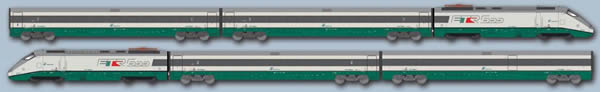 ACME AC70150 - Italian Electric Locomotive ETR 500 Set