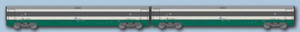 ACME AC70152 - 2pc Passenger Car Set