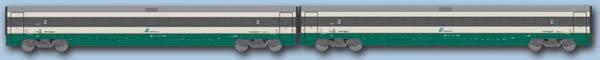 ACME AC70153 - 2pc Passenger Car Set