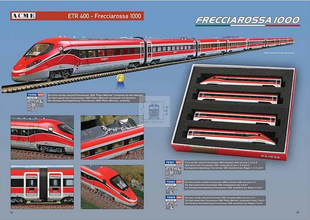 ACME AC70201 - High Speed Frecciarossa 1000 4-Car Train