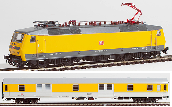 ACME AC79075 - German Electric Locomotive 120 502 + Luggage Car of the DB (DCC Sound Decoder)