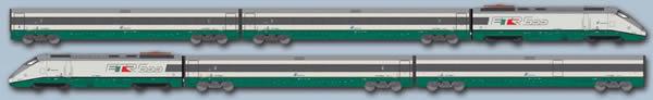 ACME AC79150 - Italian Electric Locomotive ETR 500 Set (DCC Sound Decoder)