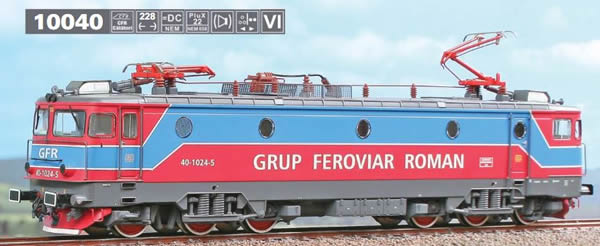 ACME AF10040 - Romanian Electric Locomotive 060-EA of the private company GFR
