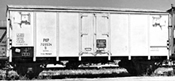 Polish Refrigerated Goods Wagon of the PKP