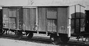 Hungarian Goods Wagon Type F of the MAV