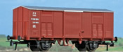 Covered Freight Car Type F