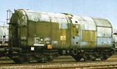 German Oil Transport Tank Wagon of the DB