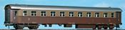 2nd Class Passenger Coach Type 1957 Bz 45000