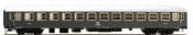 Italian Passenger Coach 2nd class Type X 1968 of the FS