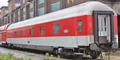 German Sleeping Car WLABmh 174 of the DB-AG