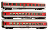 German Passenger Coach Set of the DB