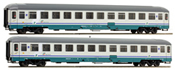 Italian 2pc Passenger Coach Set of the FS
