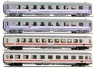 "4pc Passenger Coach Set Wawel"" EuroCity"