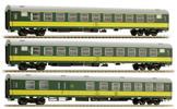 3pc Passenger Coach Set Ex 172/173 Slovenská strela