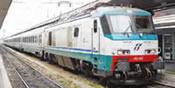 Italian Electric Locomotive E.402.012 Trenitalia of the FS