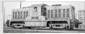 Italian Diesel Locomotive Ne 120 of the FS