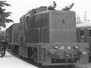 Italian Diesel Locomotive Class Ne 120 of the FS