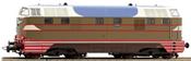 Italian Diesel-hydraulic Locomotive D.442 of the FS