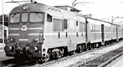 Italian Diesel Locomotive D.342.4016 of the FS