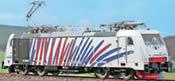 Electric Locomotive TRAXX 186 444 Zebra - Blue/Red (Limited Edition)
