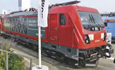 German Electric Locomotive BR 187 of the DB AG