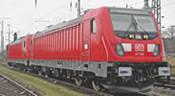 German Electric Locomotive Series 147 TRAXX of the DB AG