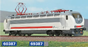 Electric loco FS E 402.143 in the newest livery for Trenitalia Intercity trains (DCC Sound Decoder)
