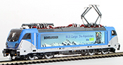 Swiss Electric Locomotive 187 003 of the BLS (DCC Sound Decoder)