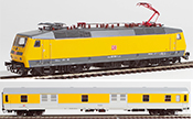 German Electric Locomotive 120 502 + Luggage Car of the DB (DCC Sound Decoder)