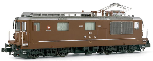 Arnold 2085 - Electric locomotive class Re 4/4 running number 163, BLS