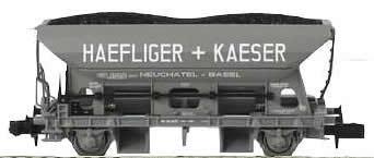 Arnold 6029 - Hopper wagon Haefliger + Kaeser - SBB