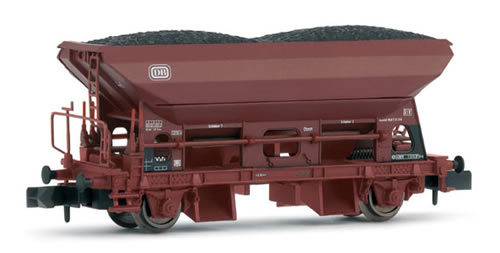 Arnold 6154 - Hopper wagon , type Fc090 with coal load, DB