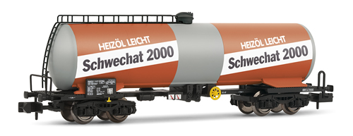 Arnold 6228 - Tank wagon 4-axle type Zas SCHWECHAT 2000 ÖBB