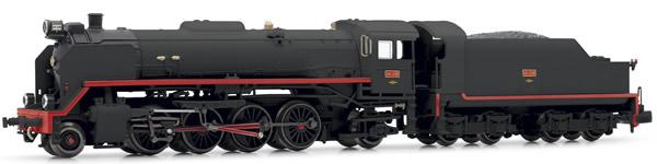 "Arnold HN2338 - Spanish Steam Locomotive 141-2118 ""Mikado"" of the RENFE"