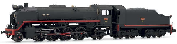 "Arnold HN2338S - Spanish Steam Locomotive 141-2118 ""Mikado"" of the RENFE (Sound)"