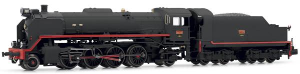"Arnold HN2338S - Spanish Steam Locomotive 141-2118 ""Mikado"" of the RENFE (Sound)"