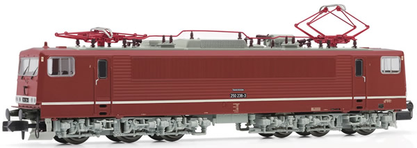 """Arnold HN2372 - German Electric Locomotive Class 250 of the DR livery """"oleanderrot"""""""