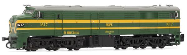 Arnold HN2410 - Spanish Diesel Locomotive Class 316 of the RENFE