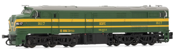 Arnold HN2410D - Spanish Diesel Locomotive Class 316 of the RENFE (Digital)