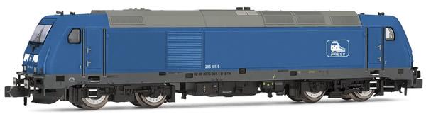 Arnold HN2414 - Diesel Locomotive Class 285.1, Blue livery