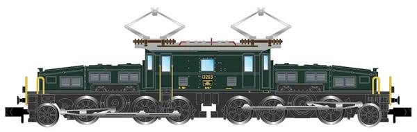 Arnold HN2432 - Swiss Electric locomotive class Be 6/8II (Crocodil) of the SBB